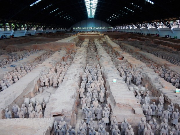 The first huge hall of warriors