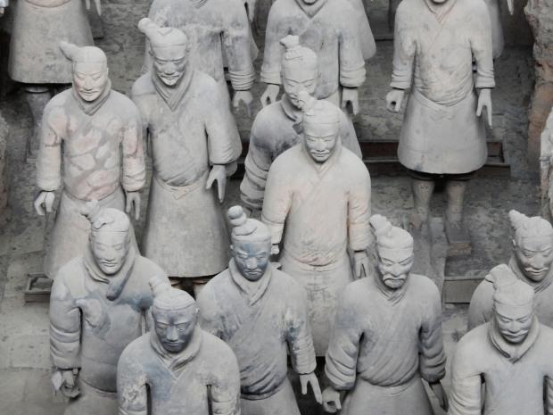 The terracotta warriors of xian