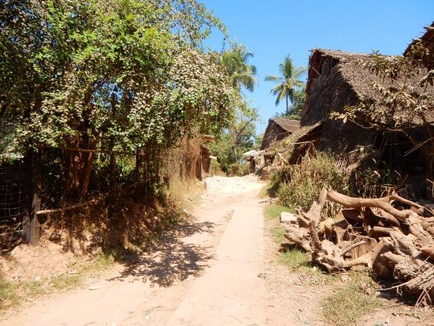 A side street in Twante
